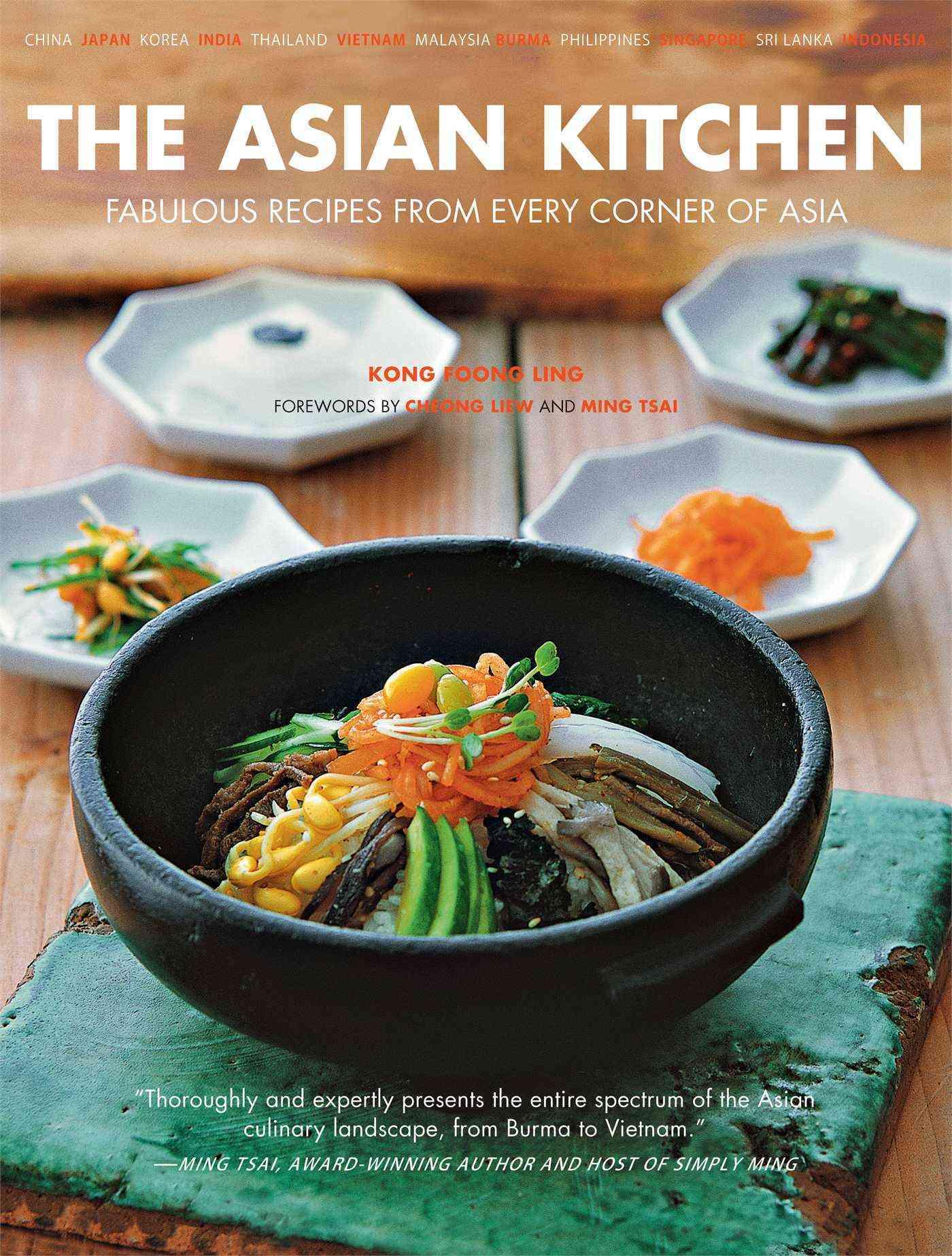 The Asian Kitchen By Ling, Kong Foong/ Tsai, Ming (FRW)/ Liew, Cheong (FRW)/ Tettoni, Luca Invernizzi (PHT)